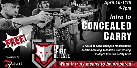 Intro to Concealed Carry - Free Admission! tickets