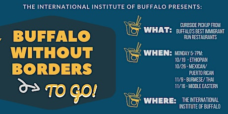 *Rescheduled Buffalo Without Borders TO GO 2020 (Night 4). tickets