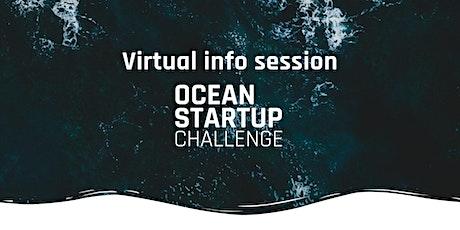 2021 Ocean Startup Challenge Info Session tickets