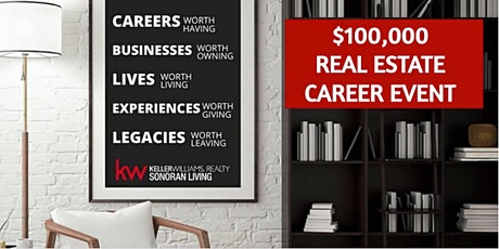 Free Real Estate Career Webinar - Evening Event tickets