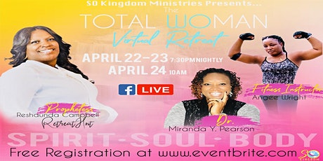THE TOTAL WOMAN VIRTUAL RETREAT 2021 tickets