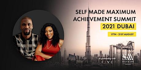 Self Made Maximum Achievement Dubai 2021 Presents Five days at the Five tickets