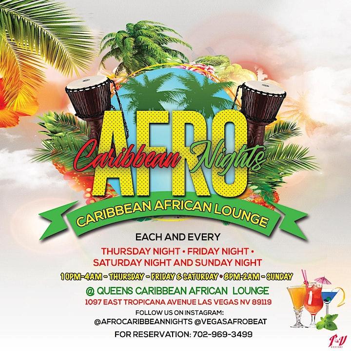 "CARIBBEAN AFRICAN  AFROBEAT/REGGAE  PARTY  FRIDAY & SATURDAY  ""LIT NIGHTS"" image"