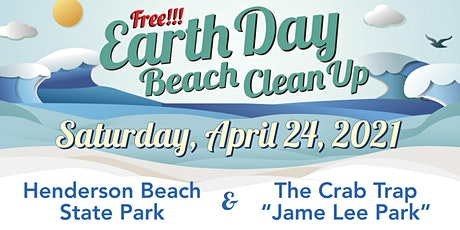 2021 EARTH DAY BEACH CLEANUP - The Crab Trap & Henderson Beach State Park tickets