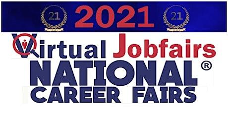 Overland Park Virtual Career Fair And Job Fair - July 20, 2021 tickets