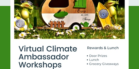 Climate Ambassador for Environmental Justice April 2021 tickets