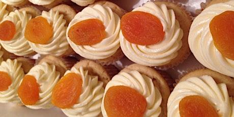 Annie's Signature Sweets Virtual Peaches n'cream  cupcakes baking class tickets