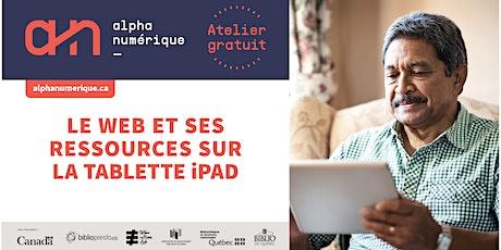 Tablette iPad (niveau 2): Le web et ses ressources billets