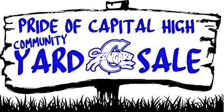Pride Of Capital High Community Yard Sale tickets