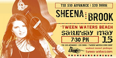 Sheena Brook: Live on the Beach tickets