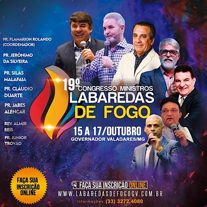 Imagem do evento 19º CONGRESSO MINISTROS LABAREDAS DE FOGO