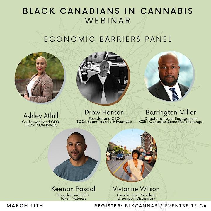 Black Canadians in Cannabis Webinar image