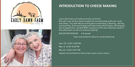 Introduction to Cheese Making tickets