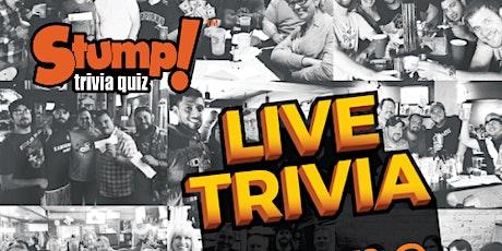 Trivia Night with Stump! tickets
