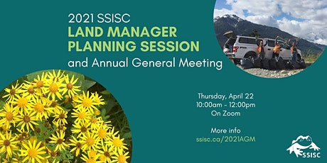 2021 Land Managers Planning Session and Annual General Meeting tickets