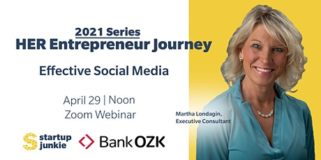 Effective Social Media Strategies for  Women in Business Tickets