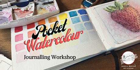 Pocket Watercolour Journalling Workshop tickets