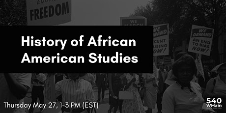 History of African American Studies tickets