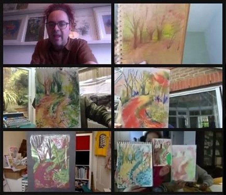 Expressive Landscapes: Drawing image