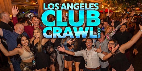 Los Angeles Club Crawl - Guided Nightlife Party Tour tickets