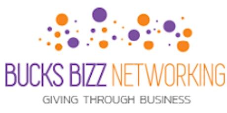 BUCKS BIZZ BAR - OPEN NETWORKING 9TH SEP 2021 6PM - 8.30PM tickets