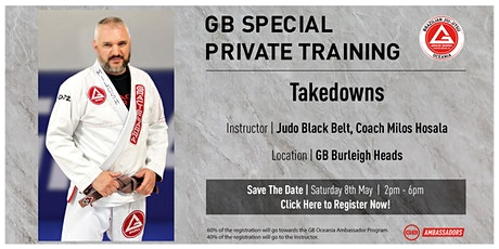 GB Special Private Training At GB Burleigh Heads tickets