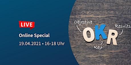 OKRs: Ziele transparent und motivierend gestalten | PTA Online Special Tickets