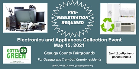 Geauga Electronics and Appliances Collection tickets