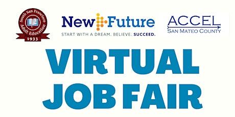 South San Francisco Adult Education - 2021 Virtual Job Fair tickets