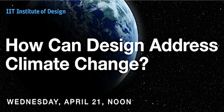 How Can Design Address Climate Change? tickets