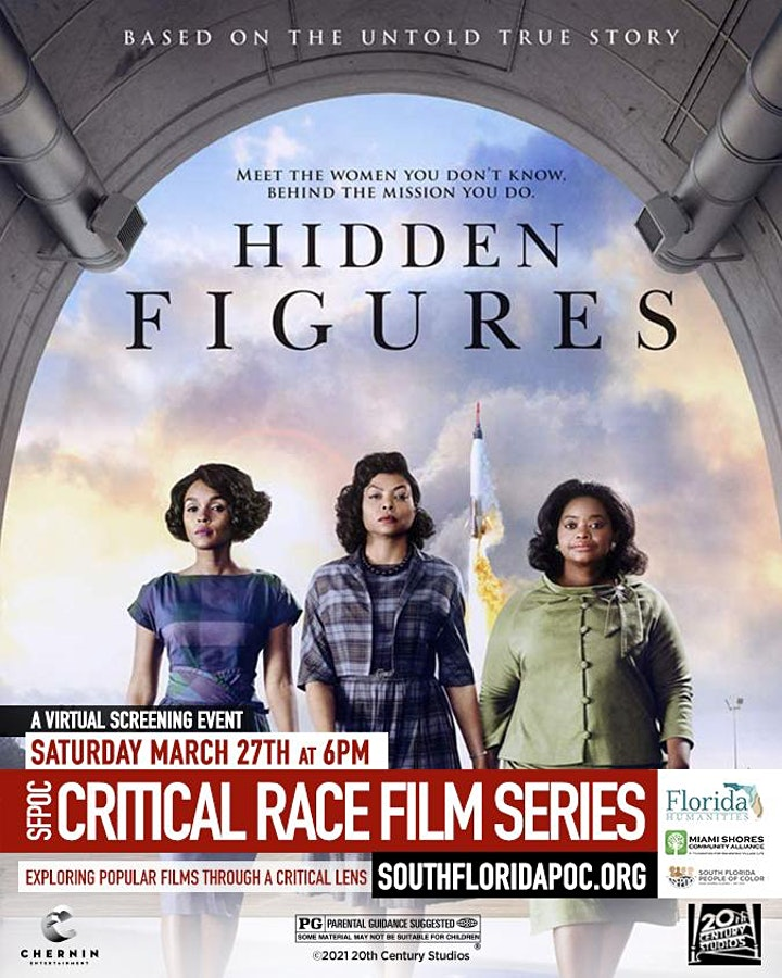 Unity360 Critical Race Film Series - Hidden Figures image