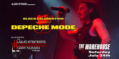 Depeche Mode & Gary Numan Tributes Black Celebration+Liquid Engineers tickets