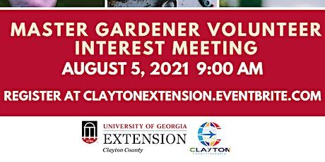 Master Gardener Volunteer Interest Meeting tickets