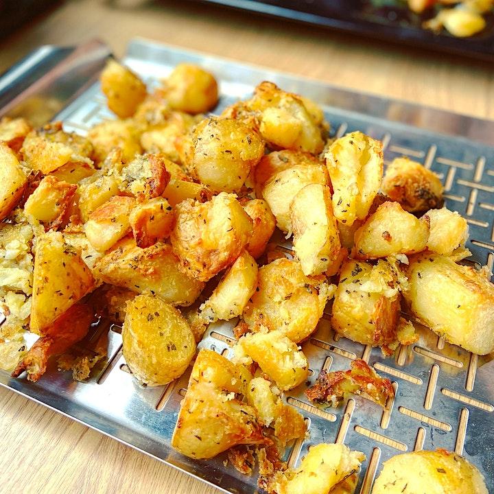 The Manc  Asado: Full lamb roasted over oak, BBQ meats, sides, dessert. BYO image