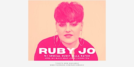 Ruby Jo with Bella Paton tickets