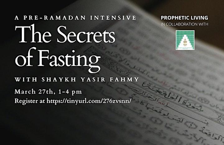 Pre-Ramadan Intensive: The Secrets of Fasting image