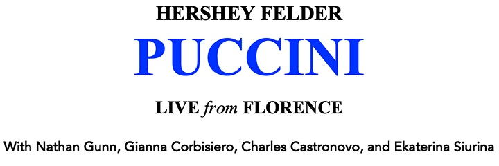 Hershey Felder Presents:  PUCCINI - LIVE from FLORENCE image