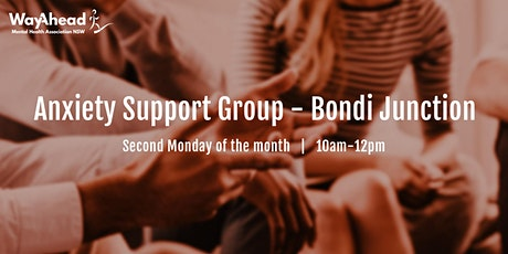 Bondi Junction Anxiety Support Group tickets