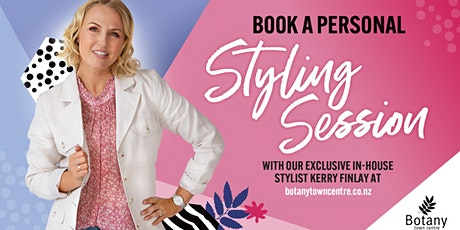 Personal Styling Session with Kerry Finlay tickets