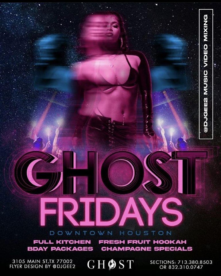 FAMOUS FRIDAYS (FREE ENTRY W/ RSVP!) FAMOUS FRIDAYS @ GHOST BAR (RSVP NOW!) image