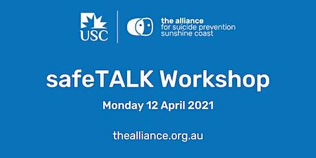 safeTALK suicide-alertness workshop April 2021 tickets
