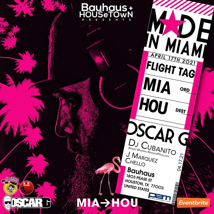 Oscar G Made In Miami 2021 image
