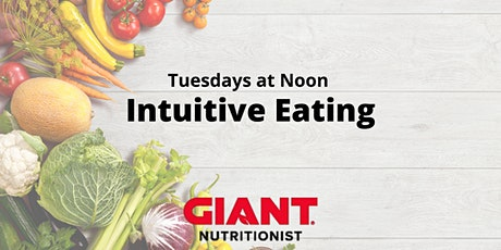 April VIRTUAL Intuitive Eating tickets