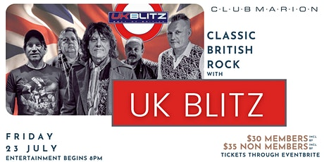 UK Blitz Live at Club Marion tickets