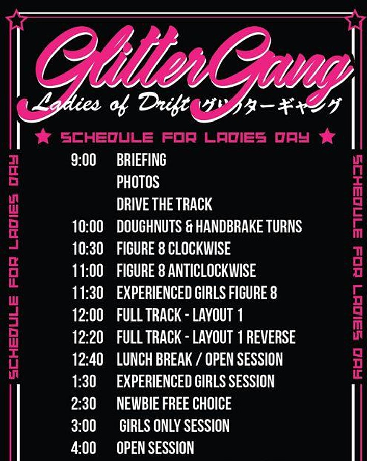 Glitter Gang Ladies Day April 2021 image