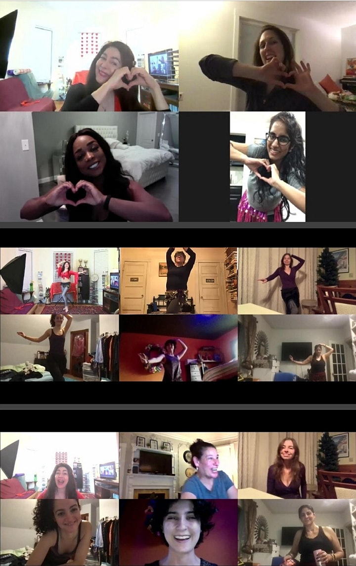 ONLINE Belly Dance Classes (Beginners) image