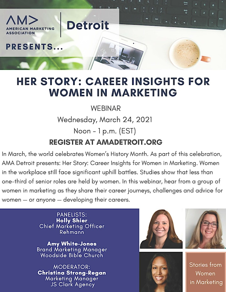 Her Story: Career Insights for Women in Marketing image