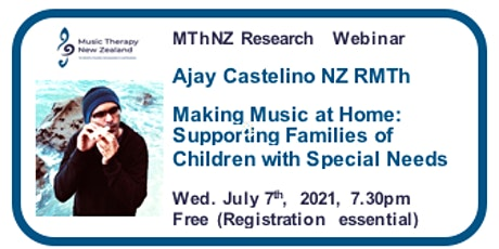 Webinar: Music At Home: Supporting Families of Children with Special Needs tickets