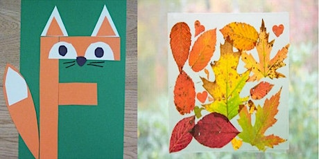 Frisky foxes and autumn leaf suncatchers (Mudgee Library, ages 3-5) tickets