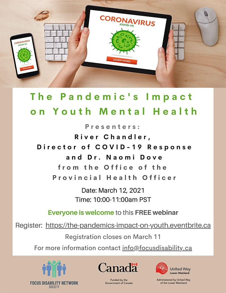 The Pandemic's Impact  on Youth Mental Health image